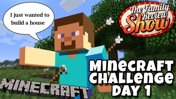 minecraft challenge day 1