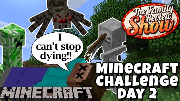 minecraft challenge day 2