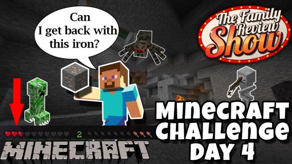 Minecraft 20 for 5 Challenge Day 4